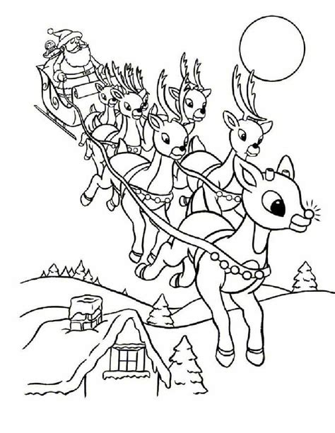 13 christmas reindeer coloring pages gt gt disney coloring pages