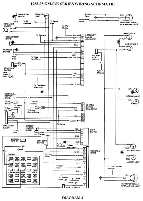 2000 cadillac ignition wiring diagram wiring