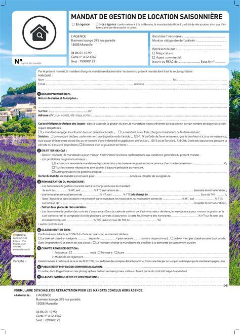 R Siliation Mandat De Gestion Lettre exemple de mandat de gestion locative