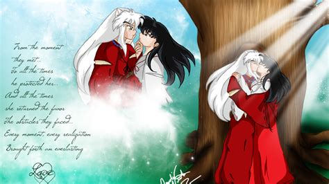 wallpapers hd anime inuyasha inuyasha and kagome desktop backgrounds for free hd
