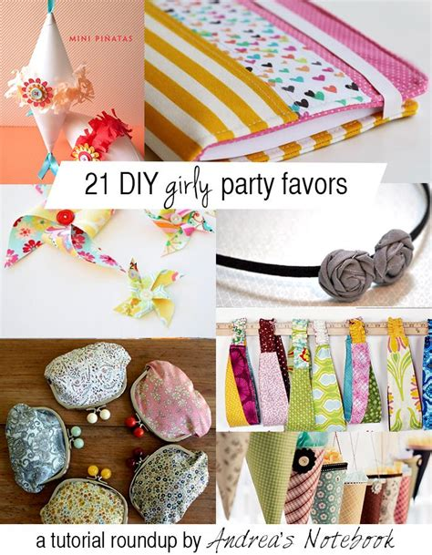 gift diy projects 21 diy girly favors these are great diy crafts for and by
