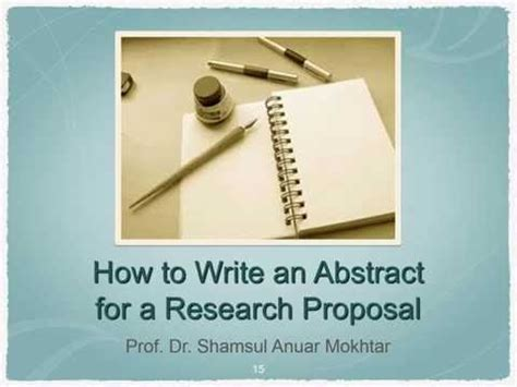 how do i write an abstract for a research paper how to write an abstract for a research
