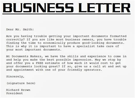 Kinds Of Business Letter With Definition Business Letter Format Typist Initials Module 1 Unit 2