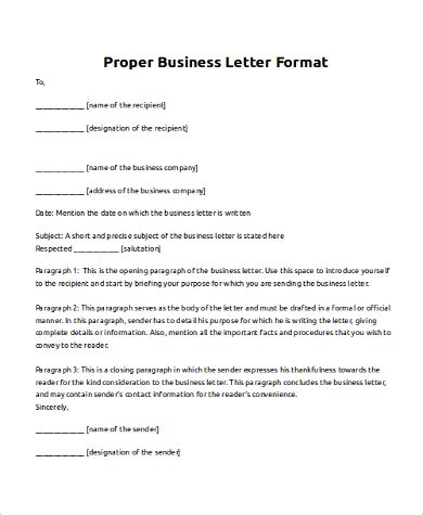 Proper Business Letter Format Cover Letter by Fresh Proper Format For A Business Letter How To Format