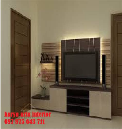Meja Tv Led meja tv minimalis karya arta interior