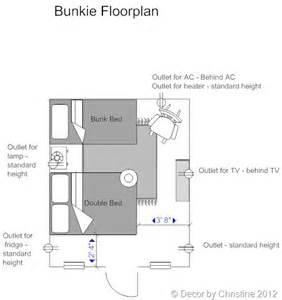 bunkie floor plans decorating a bunkie archives decor by christine