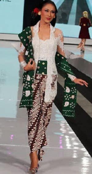 Kebaya Kutubaru Tunik fitinline kebaya fesyen khas indonesia