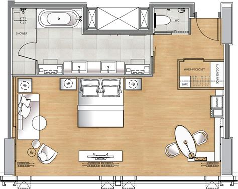 deluxe hotel room layout luxury hotel suite floor plan google search floorplans