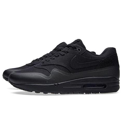 Nike Airmax 1 Black nike air max 1 v sp patch black