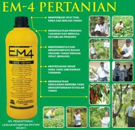 Em4 Perikanan 1 Liter 1 em4 pertanian 1 liter bibitbunga