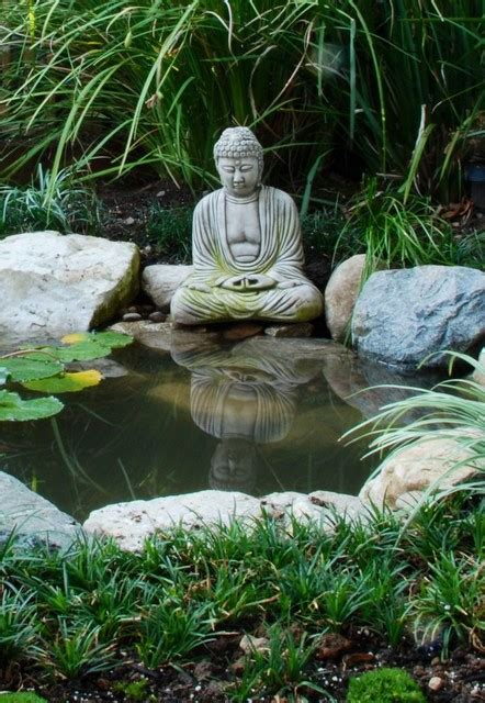 Buddha Pond   Asian   Landscape   los angeles   by Mystic Water Gardens