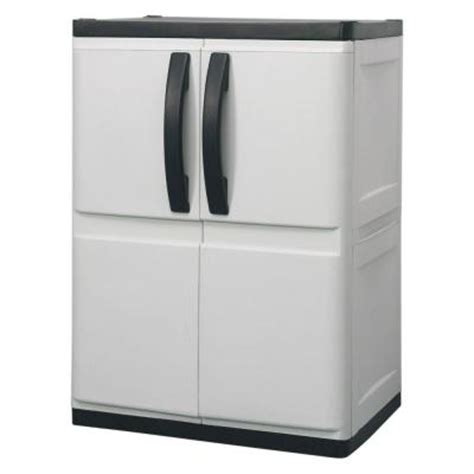 plastic cabinets home depot hdx 26 in plastic base cabinet discontinued 194984 the