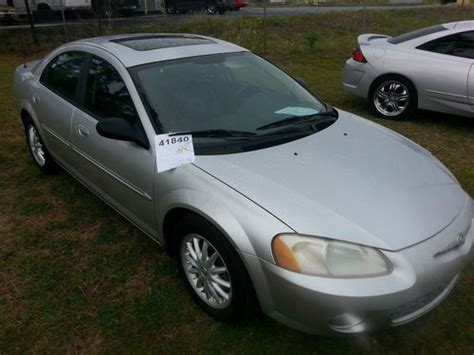 2003 chrysler sebring lxi sedan buy used 2003 chrysler sebring lxi sedan 4 door 2 7l in
