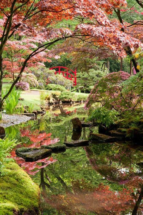Japanese Garden Monet Style Wall Mural Pixers 174 We Live Japanese Garden Wall Murals