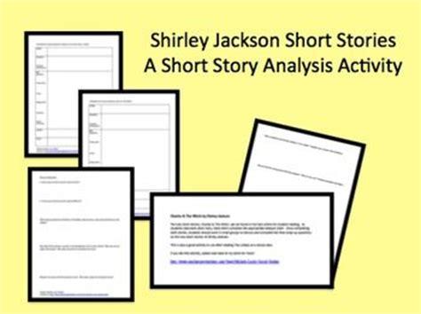 shirley jackson story analysis activity charles