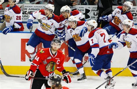kings bench division whl s central division top heavy with oil kings hitmen