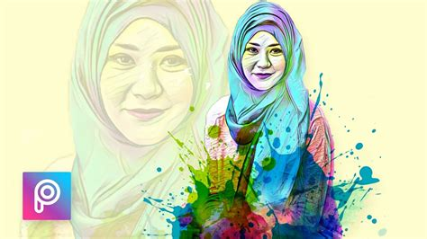 tutorial edit picsart indonesia cara edit foto pelangi dengan picsart picsart tutorial