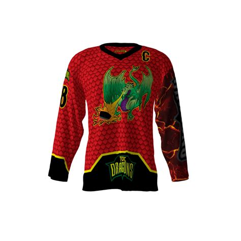 design your jersey hockey toe dragons jersey sublimation kings