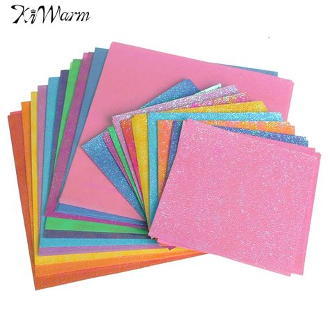 origami paper set 50pcs set square origami paper single sided solid color