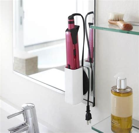 Hair Dryer And Straightener Holder hair straightener holder
