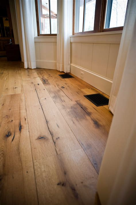 Wide Plank Oak Flooring Wide Plank White Oak Hardwood Flooring Wood Floors