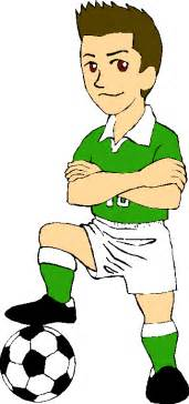 Boy soccer player clipart cliparthut free clipart