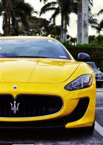 Maserati Granturismo Yellow Maserati Granturismo Yellow Cars Power Cars