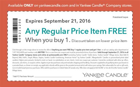 printable coupons yankee candle outlet new bogo at yankee candle thrifty momma ramblings