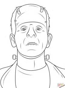Frankenstein Coloring Pages scary frankenstein coloring page free printable coloring pages