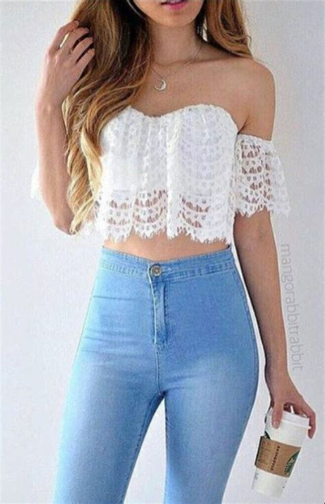 5 Cropped Top Ideas by Misaki Future Trend Spotter Latte Clothes And