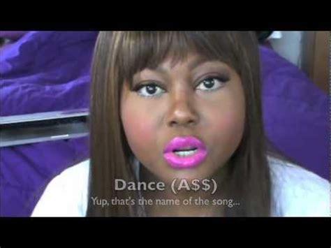 dance tutorial nicki minaj nicki minaj quot dance a quot remix inspired makeup tutorial