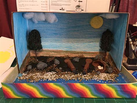 platypus diorama school project school projects