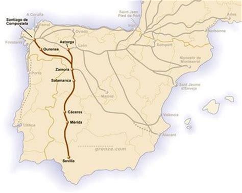 camino de la plata de sevilla a santiago en bici i v 237 a de la plata con