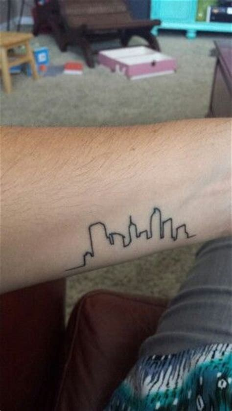 denver skyline tattoo denver skyline skyline
