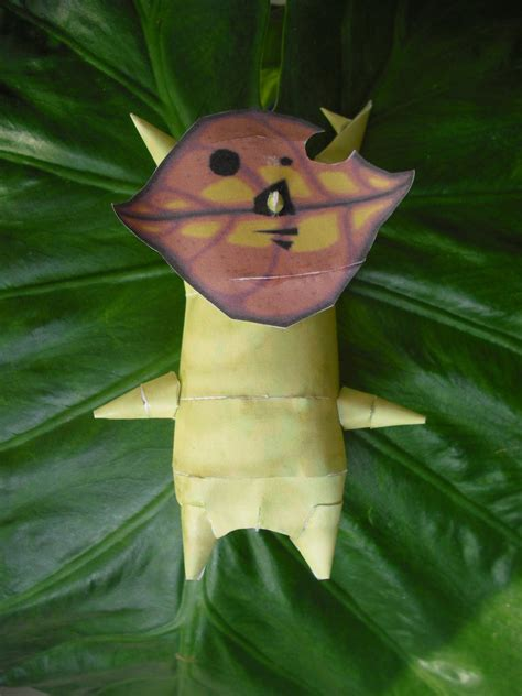 Hollos Paper Craft - korok hollo papercraft by timbauer92 on deviantart