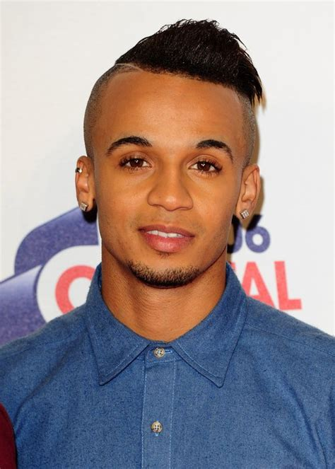 marvin hairdos jls aston merrygold shows off new hairstyle on jingle