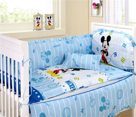 Mickey Mouse Crib Set Bedding by Mickey Mouse Bedding Yokasi Mickey Mouse