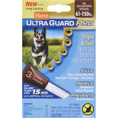 Hartz Ultra Guard Flea Tick Drops For 60 Lbs 108663 hartz ultraguard pro flea and tick drops for dogs and