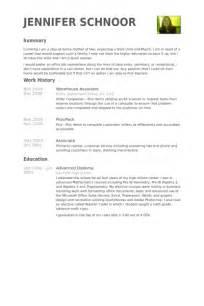 Resume Samples Amazon by Lager Mitarbeiter Cv Beispiel Visualcv Lebenslauf Muster