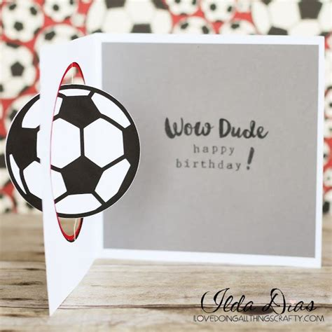 Football Birthday Cards To Make 25 Best Ideas About Soccer Cards On Pinterest Card