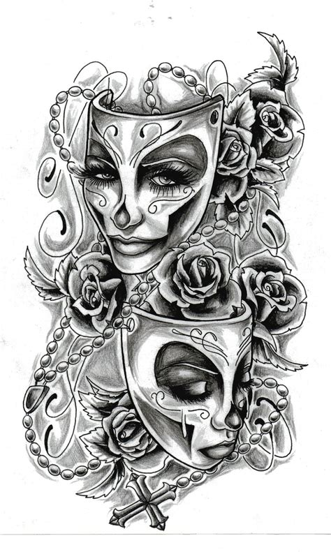 tattoo designs faces feminine design ideas pictures