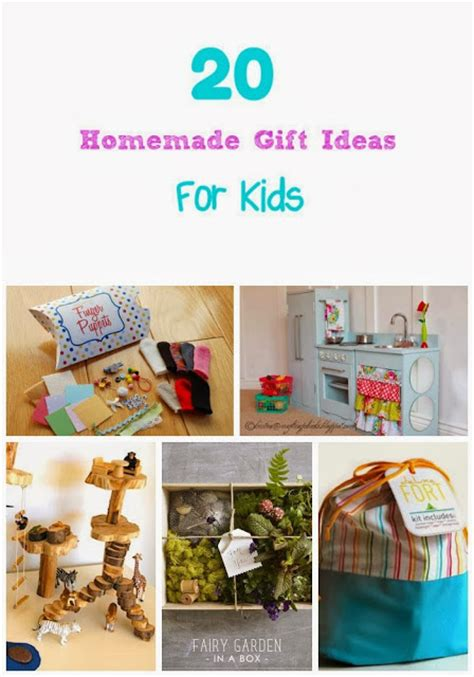 Handmade Gifts For Children - with 4 boys 20 gift ideas for