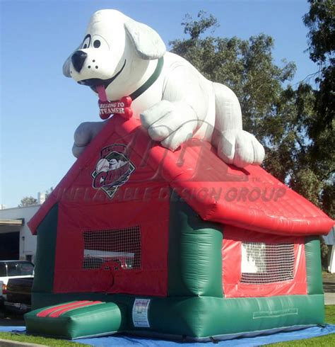 inflatable dog house inflatable bounces for baseball