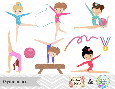 gymnastics clipart blue clipart gymnastics pencil and in color blue clipart