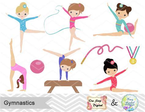 gymnast clip color clipart gymnastics pencil and in color color