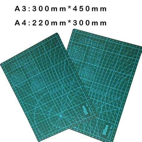 Cutting Mat Novus A3 new a3 pvc rectangle grid lines self healing cutting mat tool fabric leather paper craft diy
