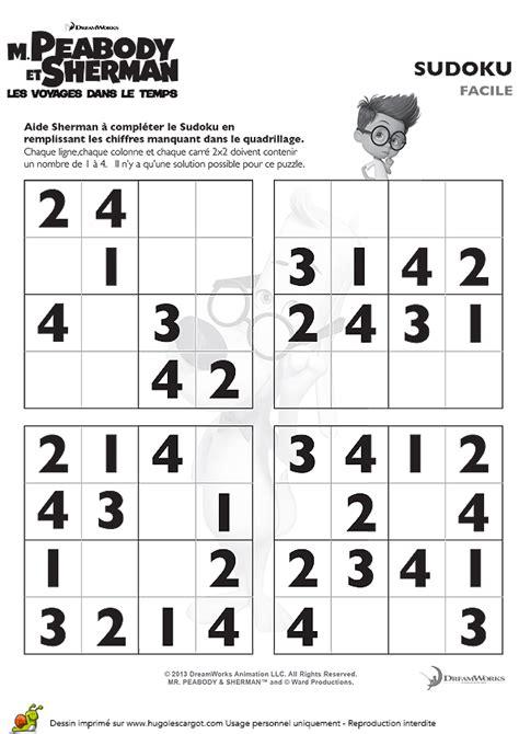 Grille De Sudoku Facile à Imprimer by Grille De Sudoku Facile De Sherman 224 Imprimer Sur