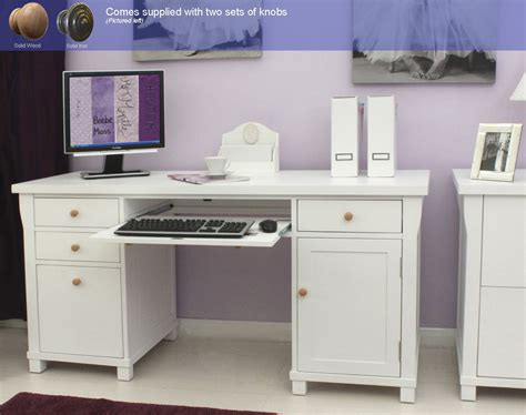 large white office desk new white painted furniture large office pc