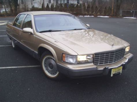 find used 1996 cadillac fleetwood brougham sedan 4 door 5 7l 1 owner excellent condition in buy used 1996 cadillac fleetwood brougham sedan 4 door 5 7l in saddle brook new jersey united