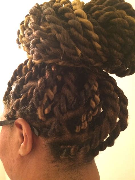 senegalese twists in a bun jumbo senegalese twist in a bun by me hair pinterest